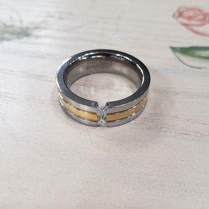 New! Titanium Steel Ring!